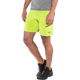 GORE WEAR R7 Shorts Men citrus green/deep water blue